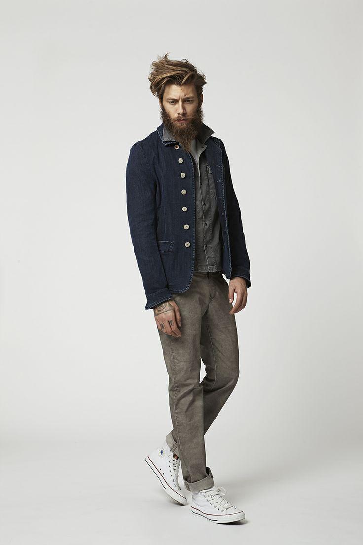 Lookbook Spring Summer Collection 2014  Kade Jacket, Coben Shirt and Pierce Pant