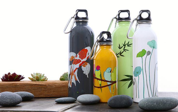 Earth Lust Eco-Friendly Bottles on Behance