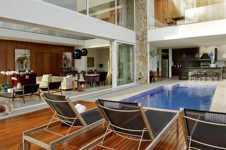 Decora o de rea de lazer 18 modelos para voc se inspirar for Juntas piscina