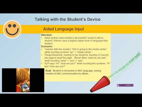 Aided Language Input with Kendal - YouTube
