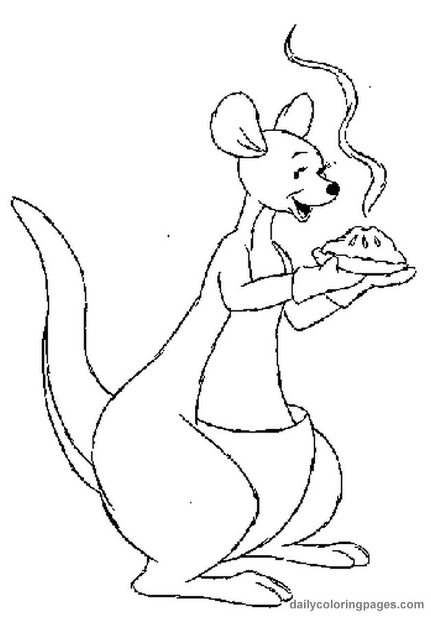 thanksgiving coloring pages winnie