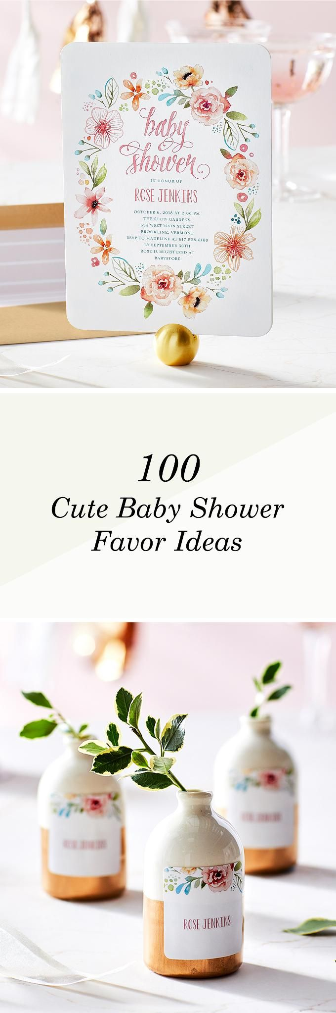 A baby shower is the perfect way to celebrate the arrival of your new little bundle of joy with all your family and friends. And at the end of the party, there's no better way to thank your guests for coming than with creative baby shower favors. Sort by category to find a favor for your party!