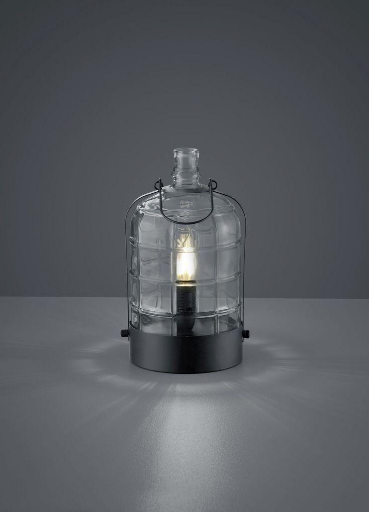 Tischl.ASTRID,1xE14(o.LM), D.15/H.28cm,schwarz, Glas klarHersteller: Trio Leuchten GmbHHersteller-Artikel-Nr.: 502700102Fassung: 1 x E14Diese Leuchte ist geeignet für die Leuchtmittel der Energieeffizienzklassen A++ bis ELeuchtmittel sind nicht im Lieferumfang enthalten.