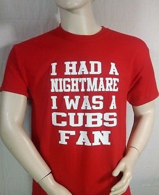 St. Louis Cardinals T-SHIRT...I Had Nightmare by SPORTSFANHEAVEN