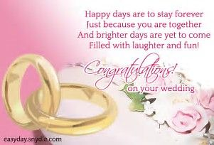 Image result for Marriage Congratulation Message