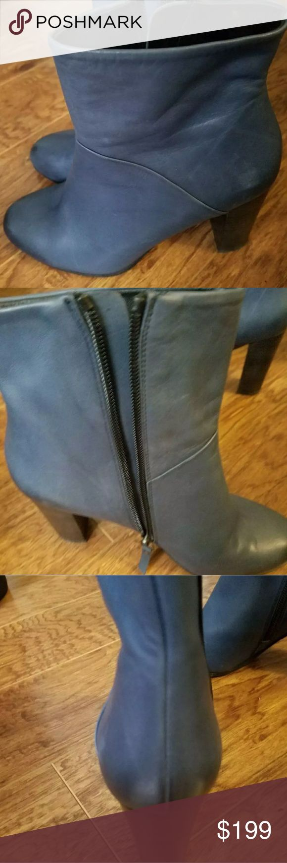 NDC made in Spain booties Baby soft leather, zip up sides n.d.c. Shoes Ankle Boots & Booties