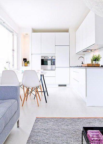 Kleine, moderne Küchen Design Ideen Küche Pinterest Modern