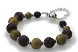 KTC-314 Purple Gold Bracelet - Kalitheo