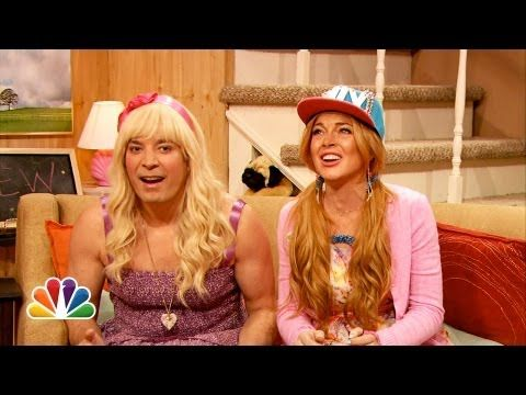 THEY MENTION HARRY. This is my favorite one of all time. I'm the only person who likes this one even better than the Channing Tatum one. Ew with Jimmy Fallon and Lindsay Lohan