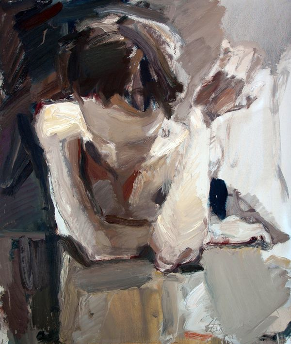 Gesture, 2012 by Vladimir Semenskiy