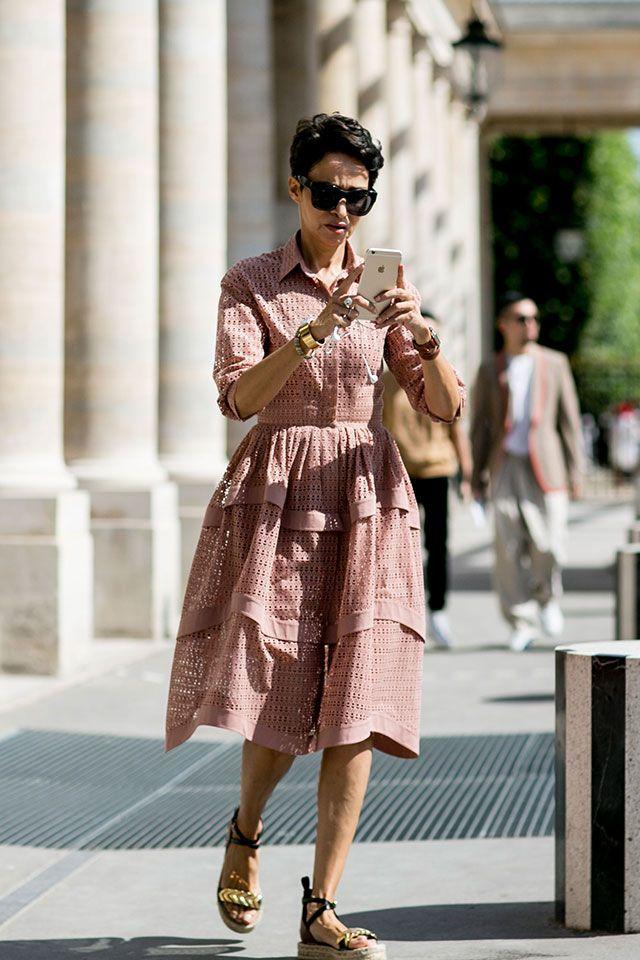 Fashion Week in Paris, Spring-Summer 2017: street style. Part 1, Buro 24/7