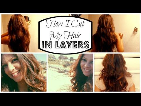 how to cut your own long layers