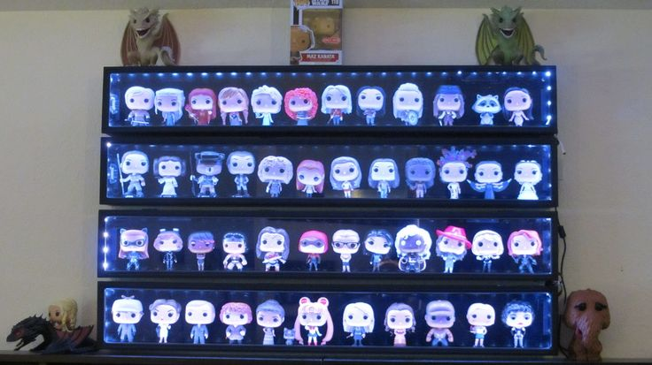 15 Best Action Vinyl Figure Display Case Images On Pinterest