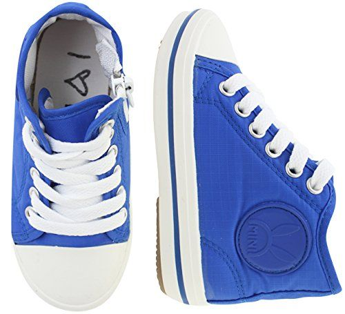 VOVOshoes Boys Girls High Top Sneakers Shoes ToddlerYouth 11 M US Little Kid Blue *** More info could be found at the image url.Note:It is affiliate link to Amazon.