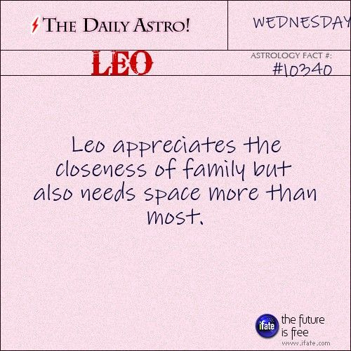 Leo 10340: Visit The Daily Astro for more Leo facts.