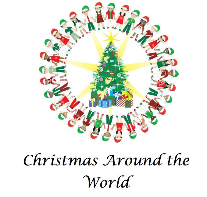 Free Christmas Around the World Unit Study France, Sweden, Germany, Mexico, includes notebook pages, recipes, crafts