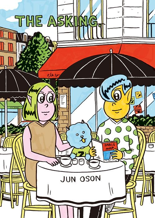 "Zucca × Jun Oson ""The Asking"" (Zucca / 2013) Zuccaとのコラボレーションの際、基準となる物語を漫画にしました。その連載をZineにして店頭で配布。"