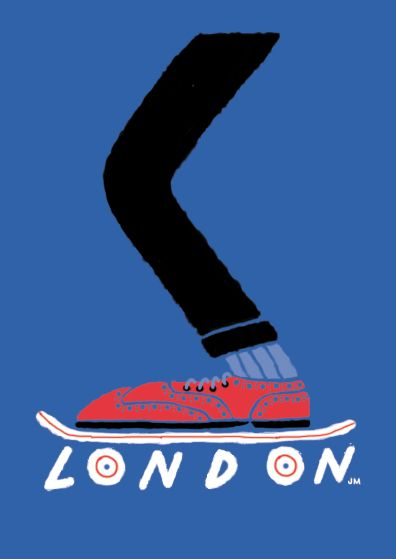 LONDON — JOSE MIGUEL MENDEZ #SKATE #UK #PRINT
