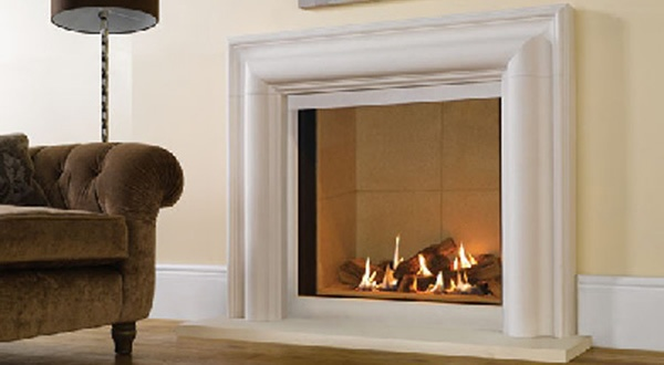 Modern Riva contemporary fireplace