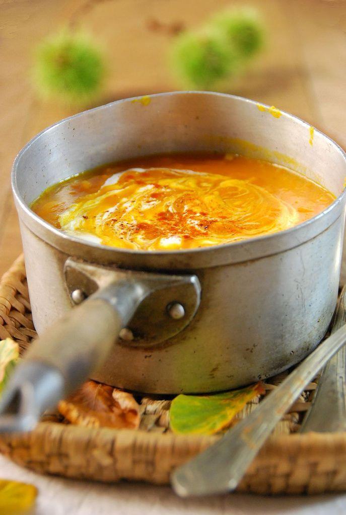 Soupe de potimarron et tomate - Recette - Tangerine Zest