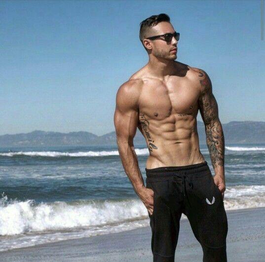 50 Fitness Tattoos For Men: Sleeve Tattoos, Shirtless Men