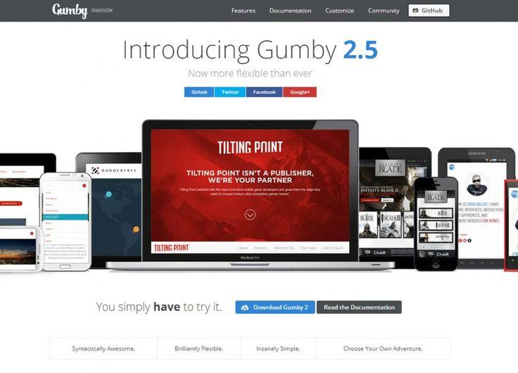 Gumby - A Flexible, Responsive CSS Framework, #Code, #CSS, #CSS3, #Framework, #Grid, #HTML, #HTML5, #Layout, #PSD, #Responsive, #UI, #Web #Design, #Development