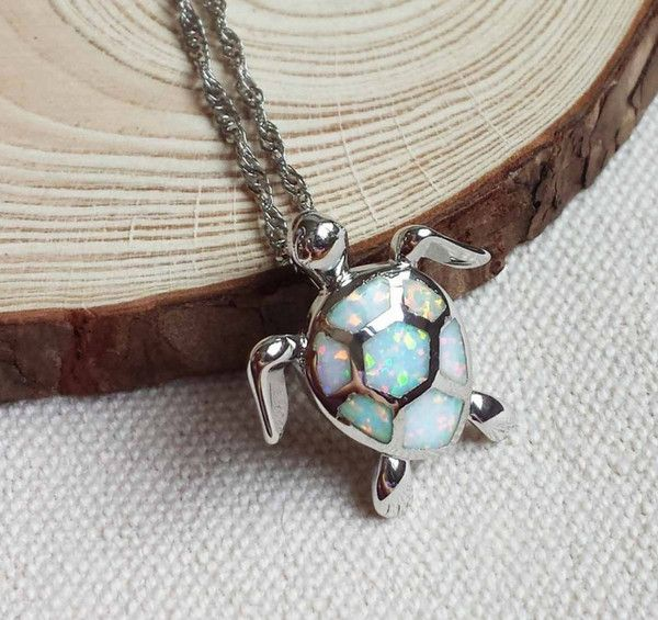 FREE SHIPPING A turtle necklace that you can carry everywhere you go, while at the same time you display your support and love for this unique animal. This is p