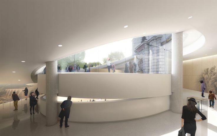 Pavillon d'accueil de l'Assemblée nationale du Québec - Institutionnel - Architecture | PROVENCHER_ROY