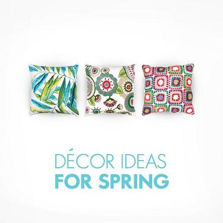 Decor Ideas For Spring...