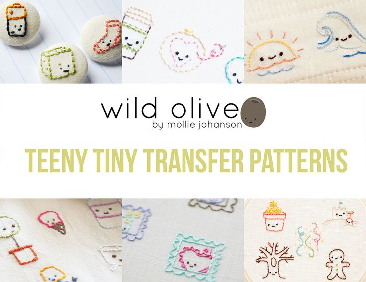 The best cute embroidery patterns ideas on pinterest