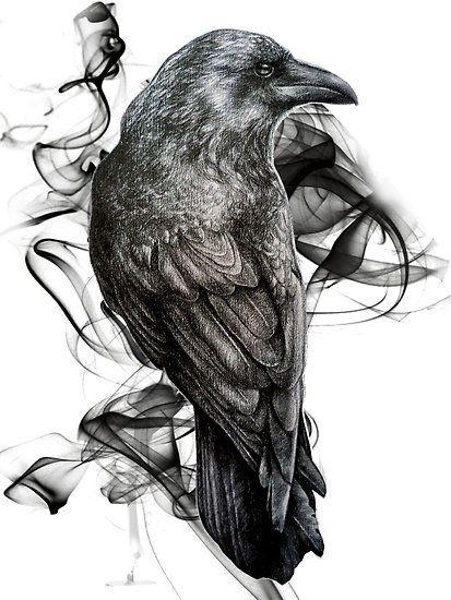 Crow Tattoo Sketch photo - 1