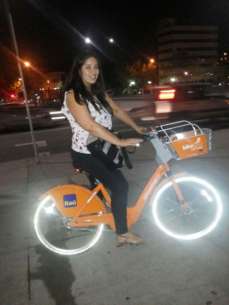 Mi experiencia con BikeSantiago