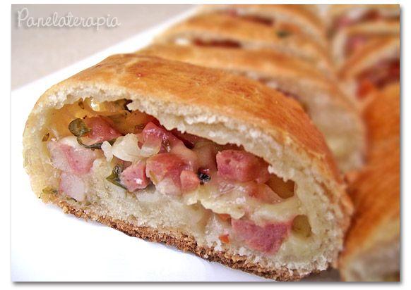 PANELATERAPIA - Blog de Culinária, Gastronomia e Receitas: Pão de Calabresa