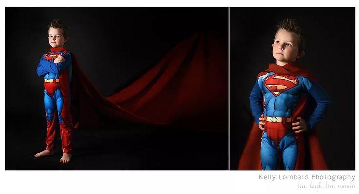 Kelly Lombard Photography  Superman Portrait photography