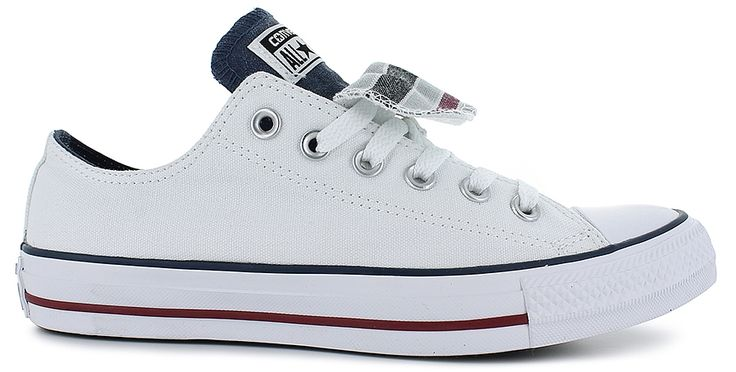 This Classic Features:<br/>canvas upper, lace-up front, cushioned insole, double tongue for styling, Converse® logo detailing on tongue, durable rubber outsole, Note: The soles of all Ladies' Converse® will be stamped with Men's sizing. The label inside the shoe will reflect the correct Ladies' size. This is how Converse® marks their soles. Ladies' size 5 is stamped 3, size 6-stamped 4, size 7-stamped 5, size 8-stamped 6, size 9-stamped 7, si...