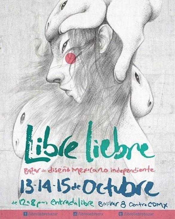 En octubre nos vemos bomboncitos  regresamos con toodo a @libreliebrebazar yeeei! 13-15 de octubre van a ir verdaaaaad?