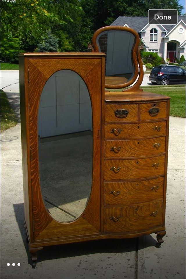 Antique dresser. 795 best Antiques Galore images on Pinterest   Antique furniture