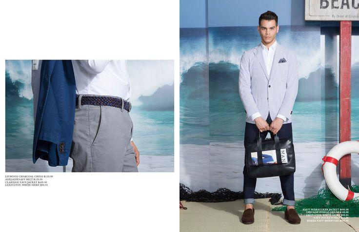 M.J. Bale Summer 15: Cocktails & Tailoring Dreams. Shop now at mjbale.com