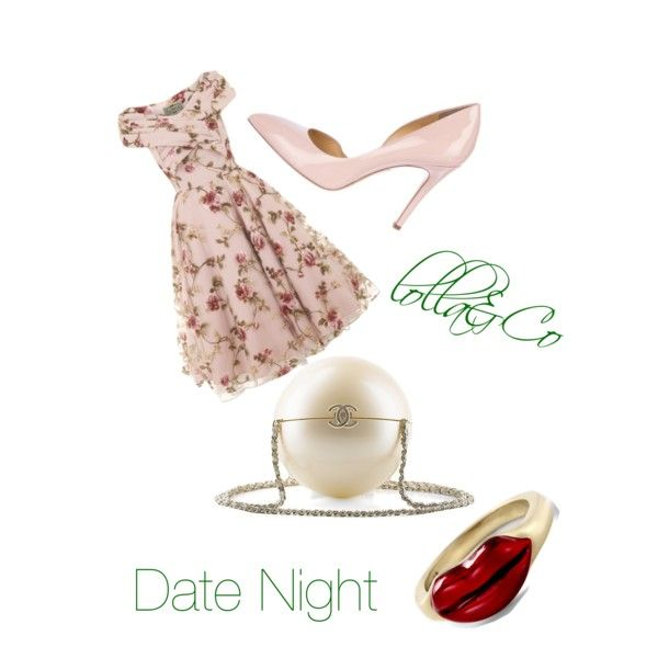 A fashion look from February 2015 featuring Charlotte Olympia pumps and Alison Lou rings. Browse and shop related looks.