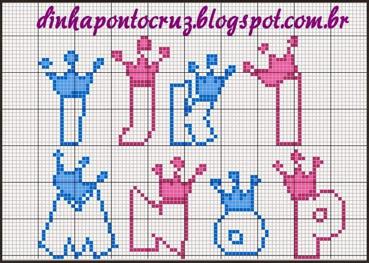 http://dinhapontocruz.blogspot.com.br/2014/08/monograma-baby-principe-e-princesa.html