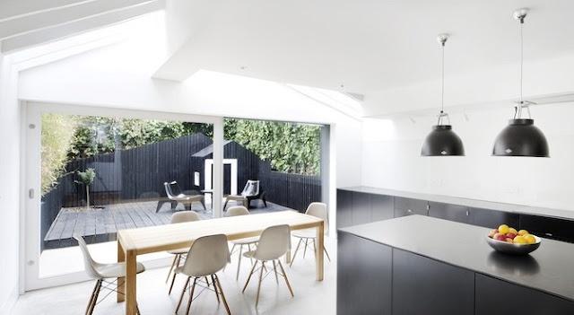 Modern kitchen diner extension