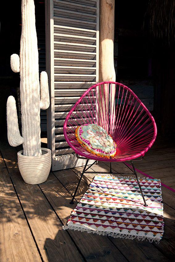 Interior: Ines Lopin von Viva Mexiko Chair erklärt den Acapulco Chair | Journelles