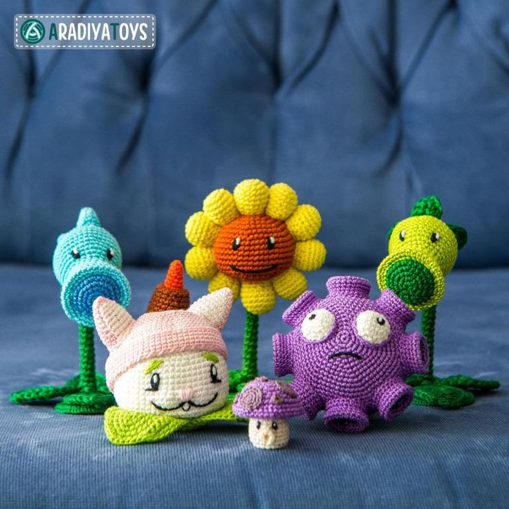 Amigurumi Plants Vs Zombies : 51 Best images about Crochet Plants vs. Zombies on ...