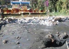 Por grita se seca embarcadero de Xochimilco
