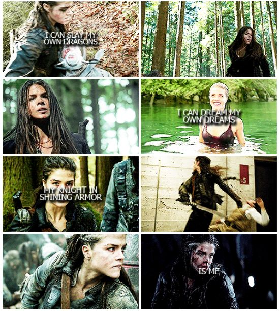 Octavia Blake    The 100    Marie Avgeropoulos