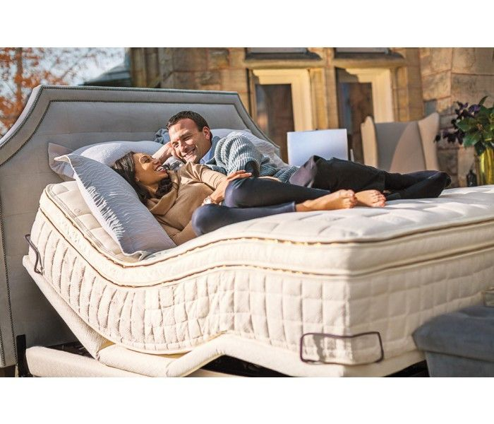 The Conductor Organic Adjustable Bed replaces your traditional adjustable power base. Naturepedic replaces the regular 7S system by covering it in certified organic cotton and wool eliminating fire retardants along the way.