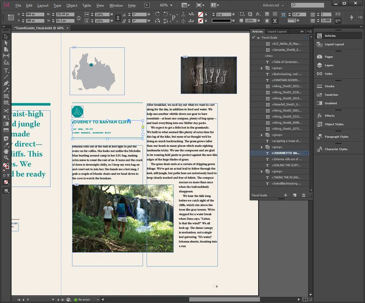Adobe InDesign | Accessibility Tips