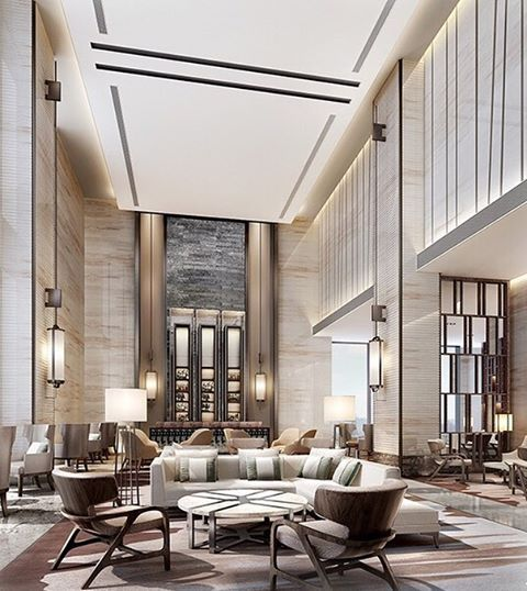 You might consider looking at this room and picking some of these pieces to  integrate your. Best 25  Lobby furniture ideas on Pinterest   Waiting area  Open