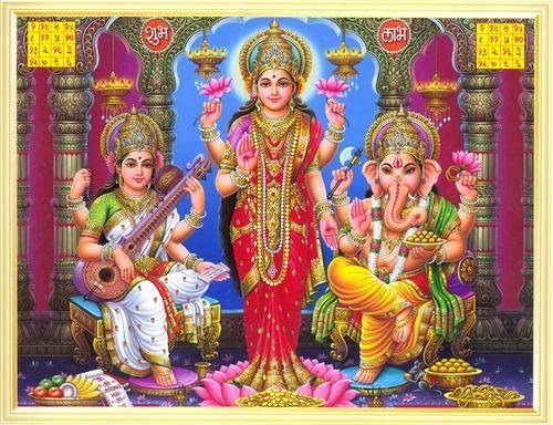 Diwali Special Lakshmi and Ganesha Wallpapers and Photos - Diwali 2013 Tips, Diwali Wallpapers, Diwali Wishes Cards, Diwali Muhurat