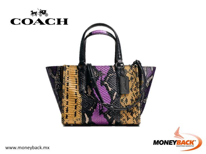 No hay ninguna marca más reconocida en materia de bolsos de mujeres que Coach. Coach México cuenta con tiendas en Cancún, Guadalajara, Querétaro y la Ciudad de México, además de tiendas departamentales Liverpool y Palacio de Hierro. ¡Guarda tu recibo y ven a nuestro módulo por tu reembolso de impuestos! #moneyback #viajeamexico